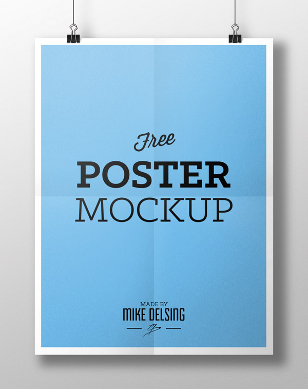 20 free psd templates to mockup your poster designs for Free poster design templates