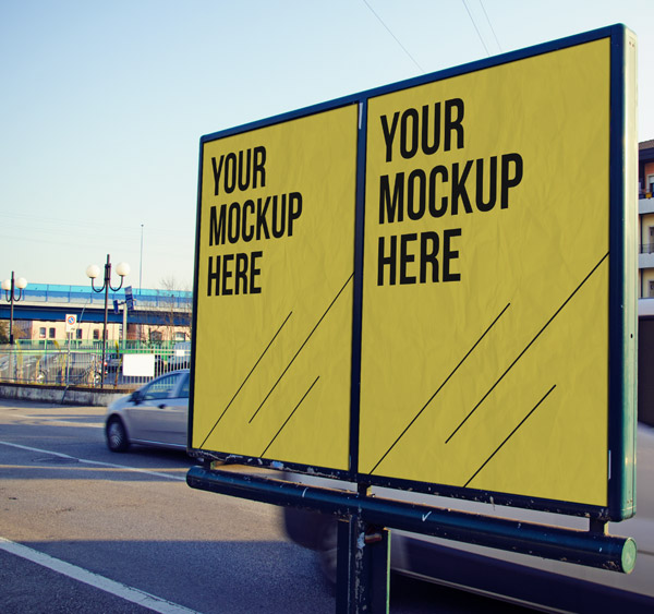 Free Advertising MockUp by Engjell Gjepali