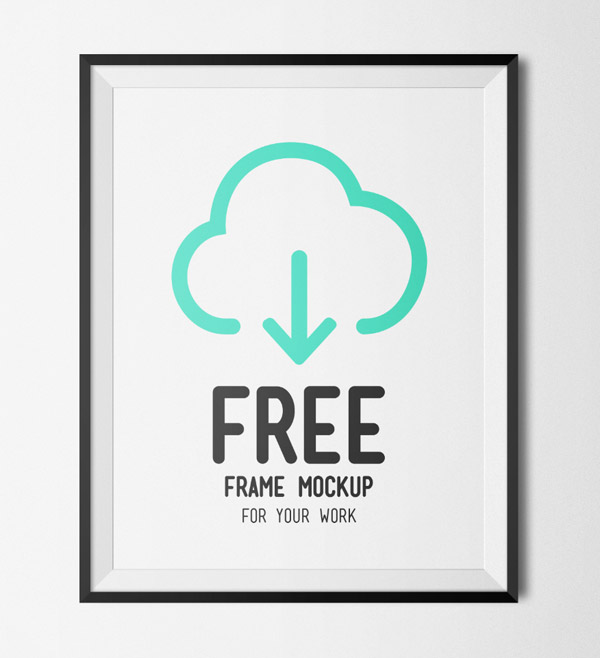 Free Frame Mockup by Blue Monkey Lab