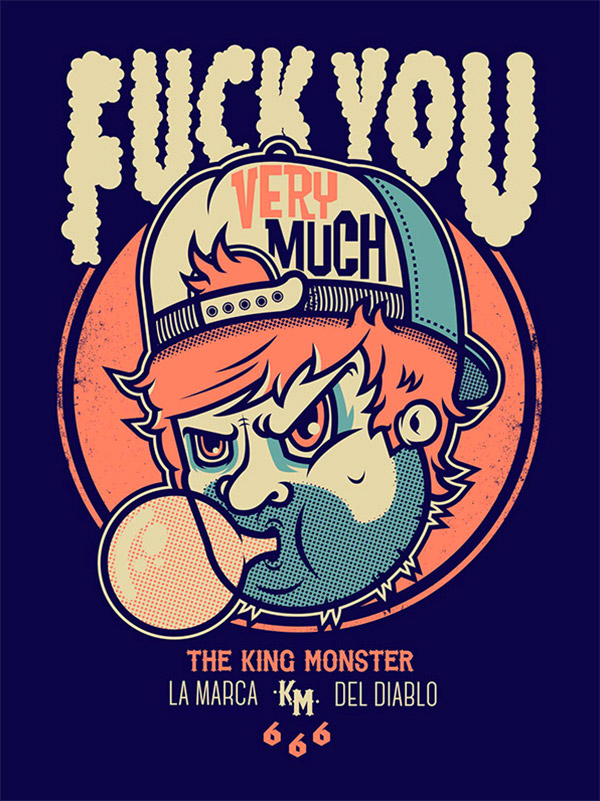 The King Monster 666 by Korcho