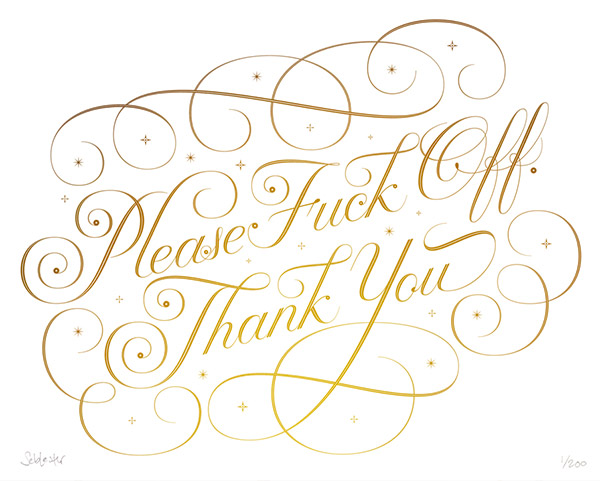 Please Thank You by Seb Lester