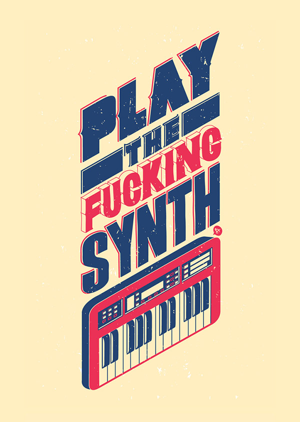 Play the Fucking Synth by Manuel Cetina