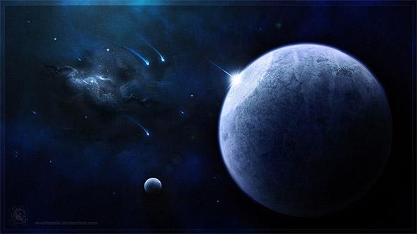 Blue Doom by AverrisVis