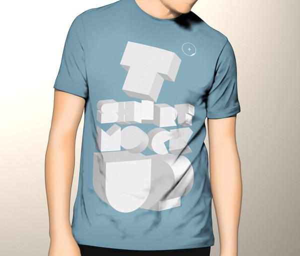 Pixeden Tshirt Mockup Template PSD