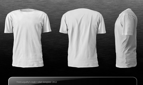 Male T-Shirt Template by Thetrueguilty
