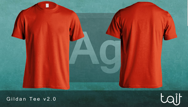 15 mockups e templates para camisetas - Grátis | Clube do Design