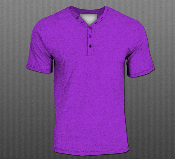 Fashion Button V-Neck PSD by TheApparelGuy