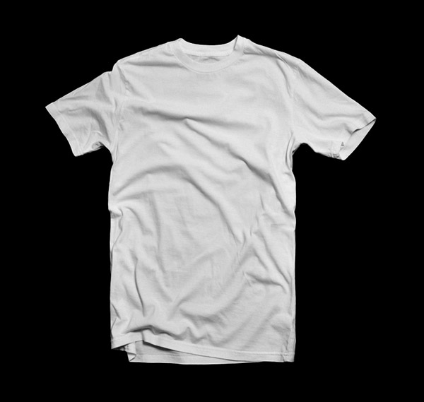 angelaacevedo Blank T-Shirt - White 001