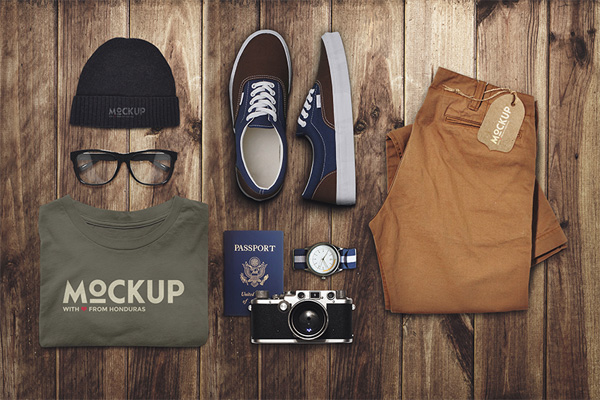 Travel Mockup by EAMEJIA