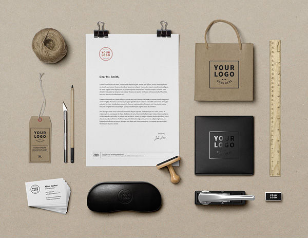 Branding / Identity MockUp by GraphicBurger