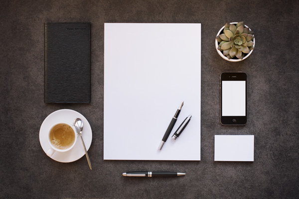 Business Stationery MockUps by QEAQL