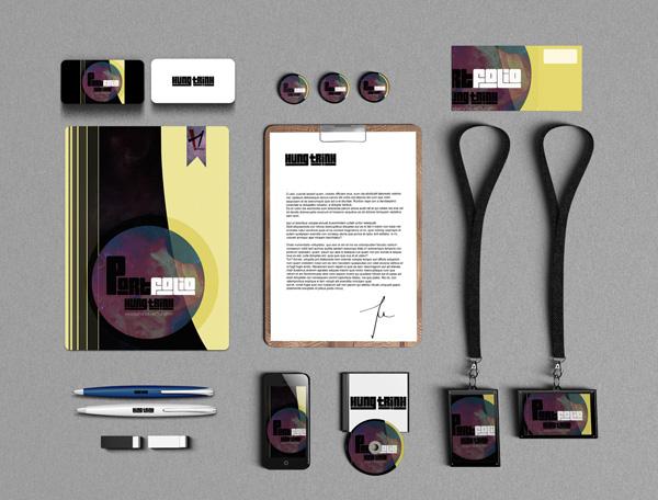 Free Branding Mockup by Hung Trinh