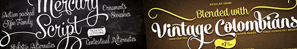 21 Beautiful Script & Calligraphy Fonts for 97% Off!