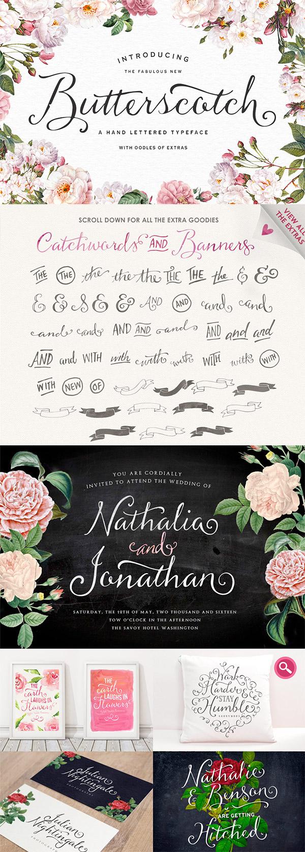Butterscotch Typeface