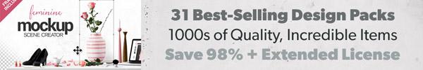The Most Extensive, Highest Quality Design Bundle Ever