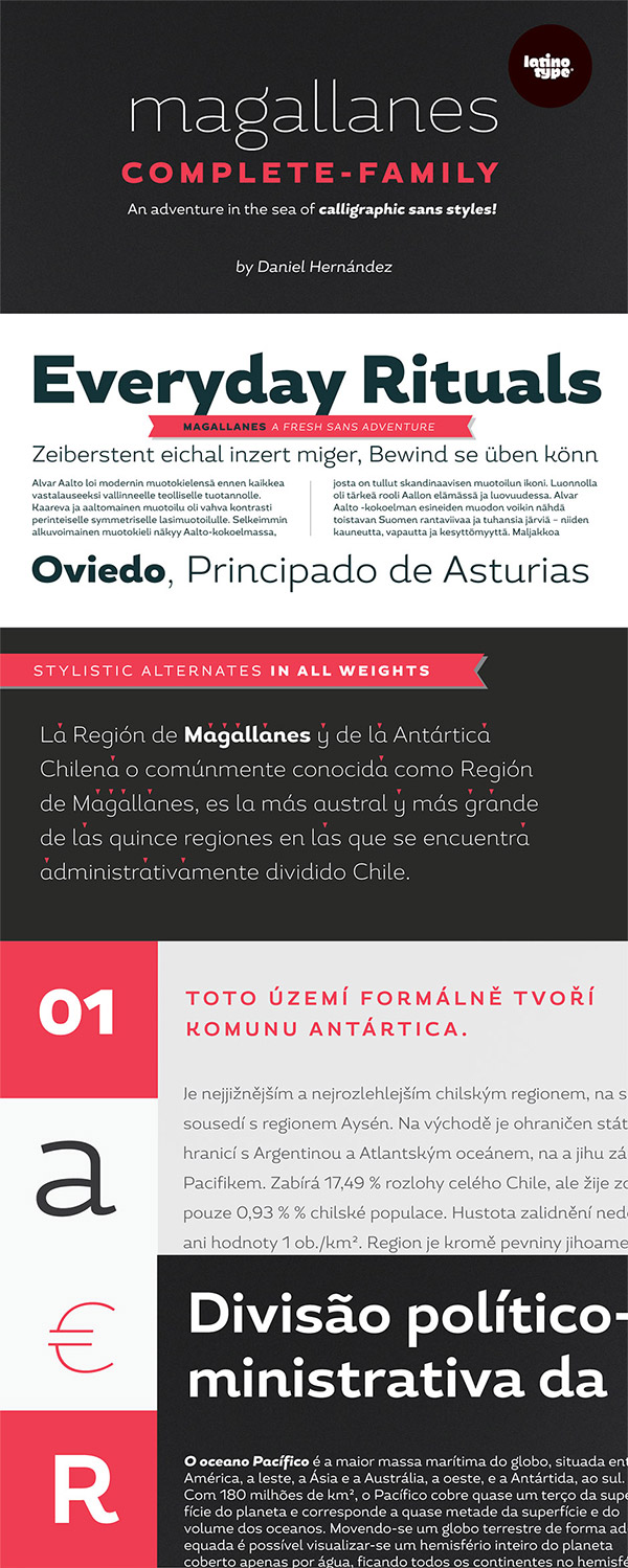 Magallanes Font Preview