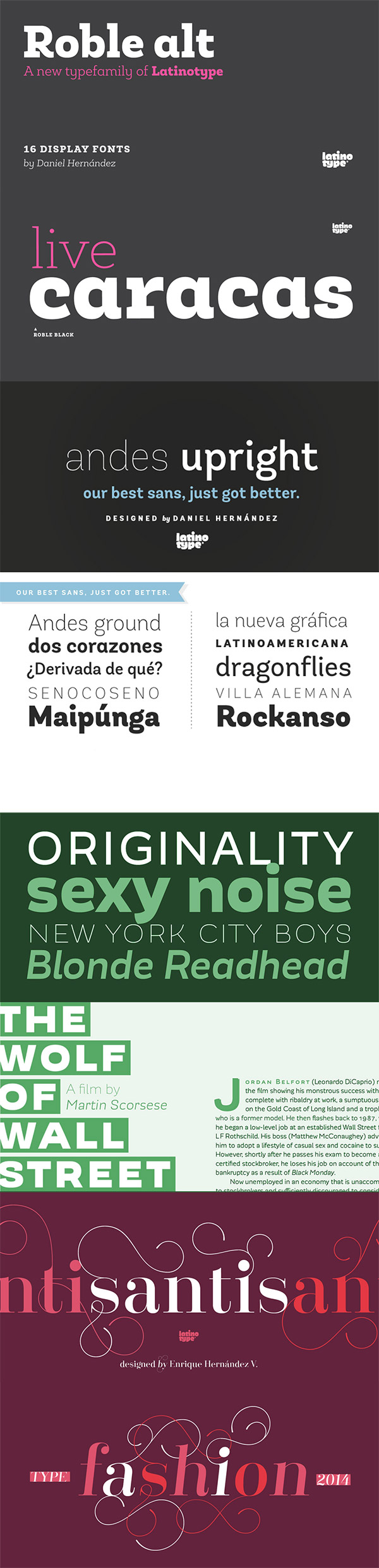 Corporate Fonts Preview