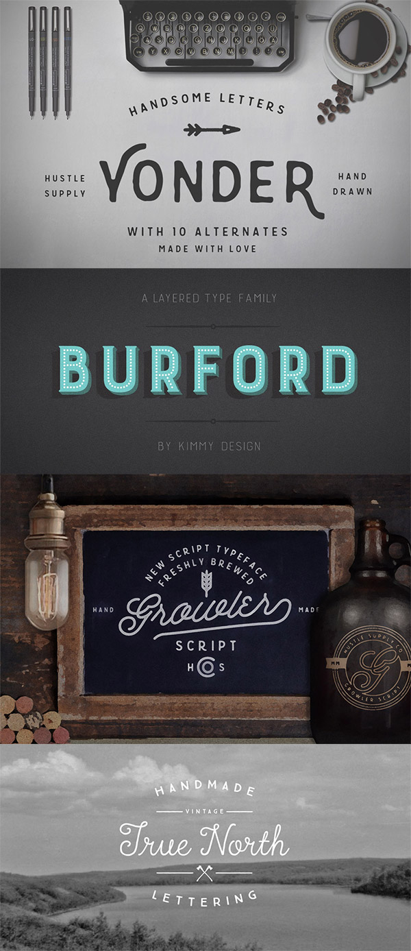 Traditional Fonts Preview