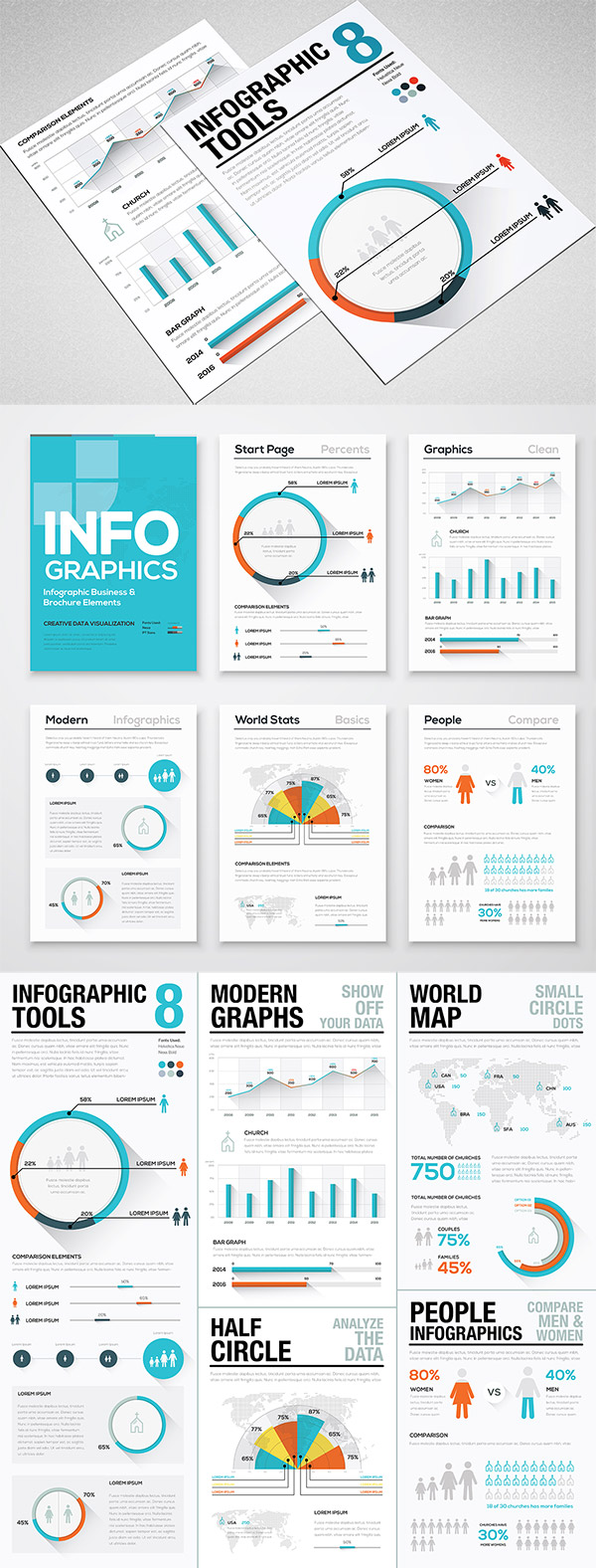 Infographic Tools preview