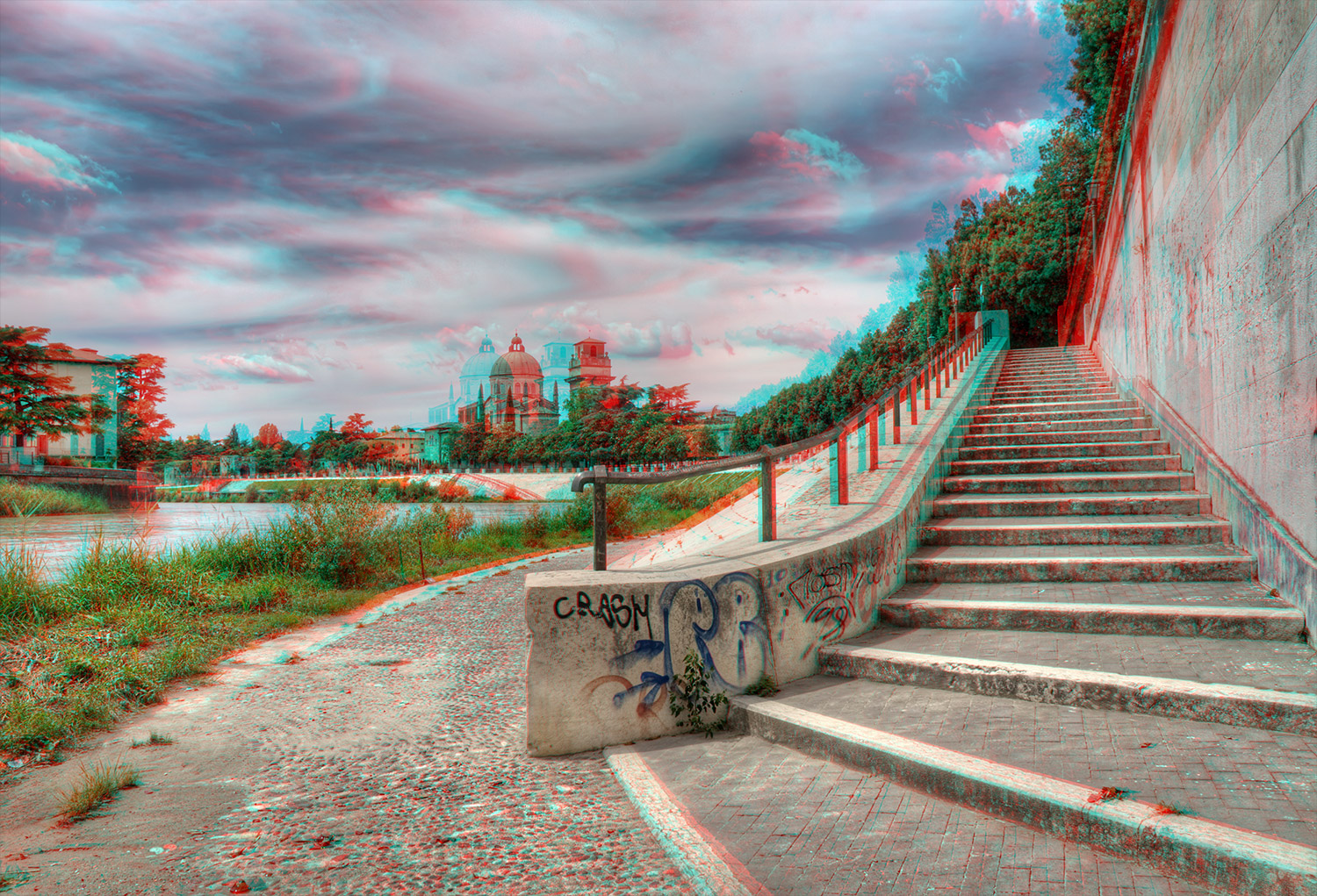 How to create anaglyph 3d images that really work for 3d building creator