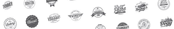 50 Vintage Logo Templates for Premium Members