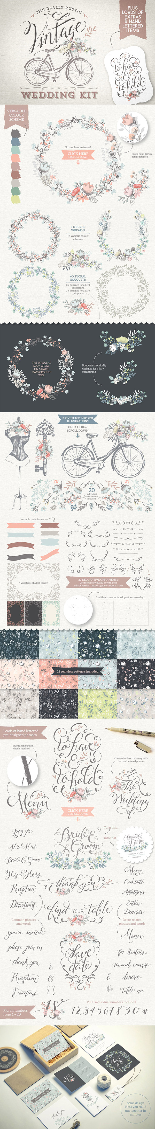 The Really Rustic Wedding Kit preview