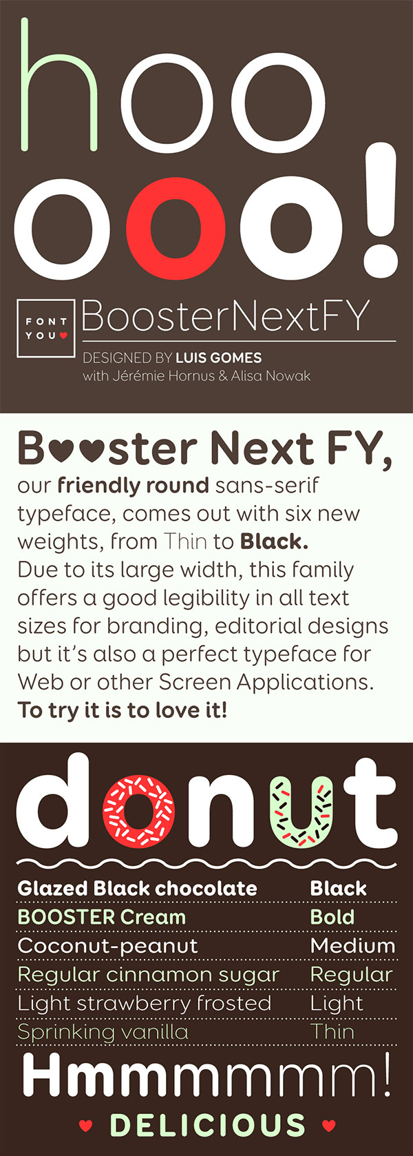 Booster Next FY font preview