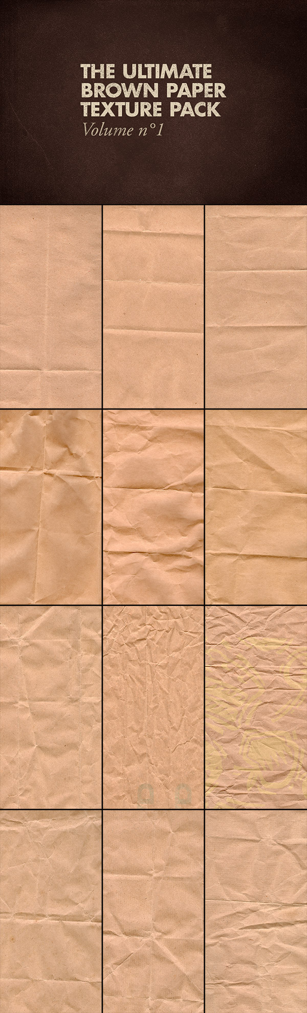 The Ultimate Brown Paper Texture Pack Volume 1