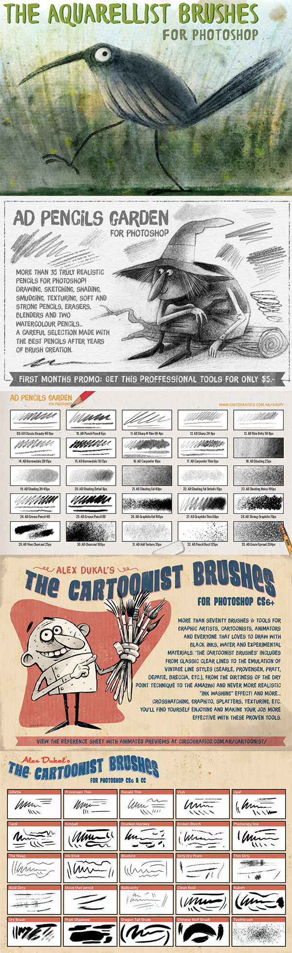 Artistic Hand Drawn effect resources