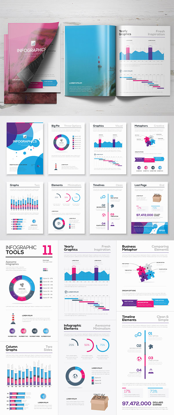 Simple infographic inspiration