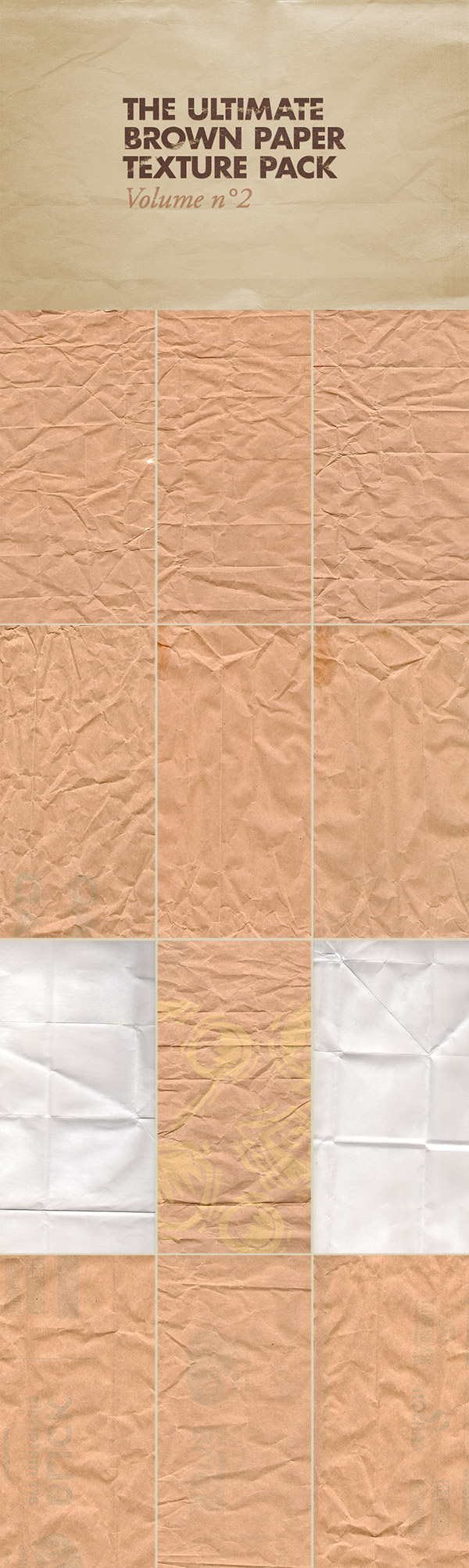 The Ultimate Brown Paper Texture Pack Volume 2