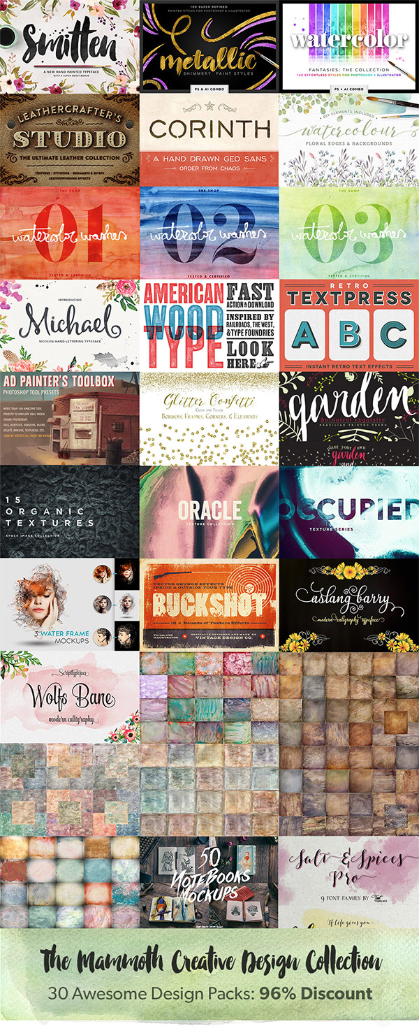 The Mammoth Creative Design Collection