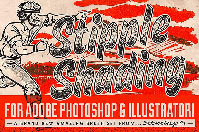 Stipple Shading Brushes