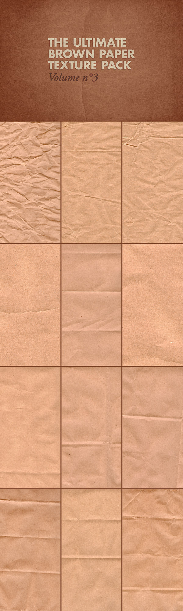 The Ultimate Brown Paper Texture Pack