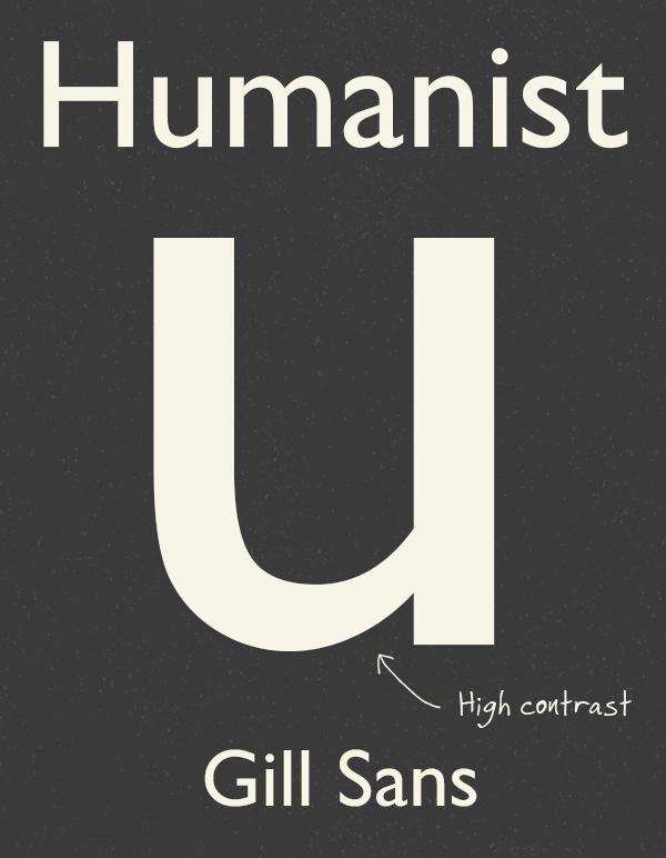 Humanist Sans-Serifs