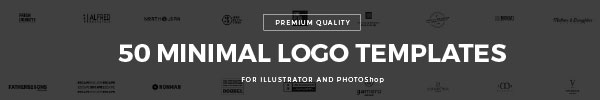 50 Modern Logo Templates for Premium Members