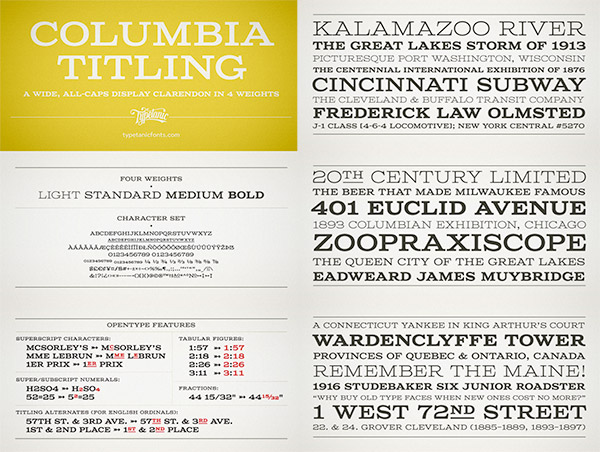 Columbia Titling