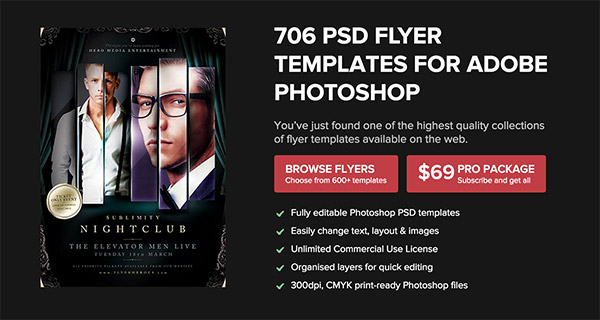 6 Poster & Flyer Templates for Premium Members