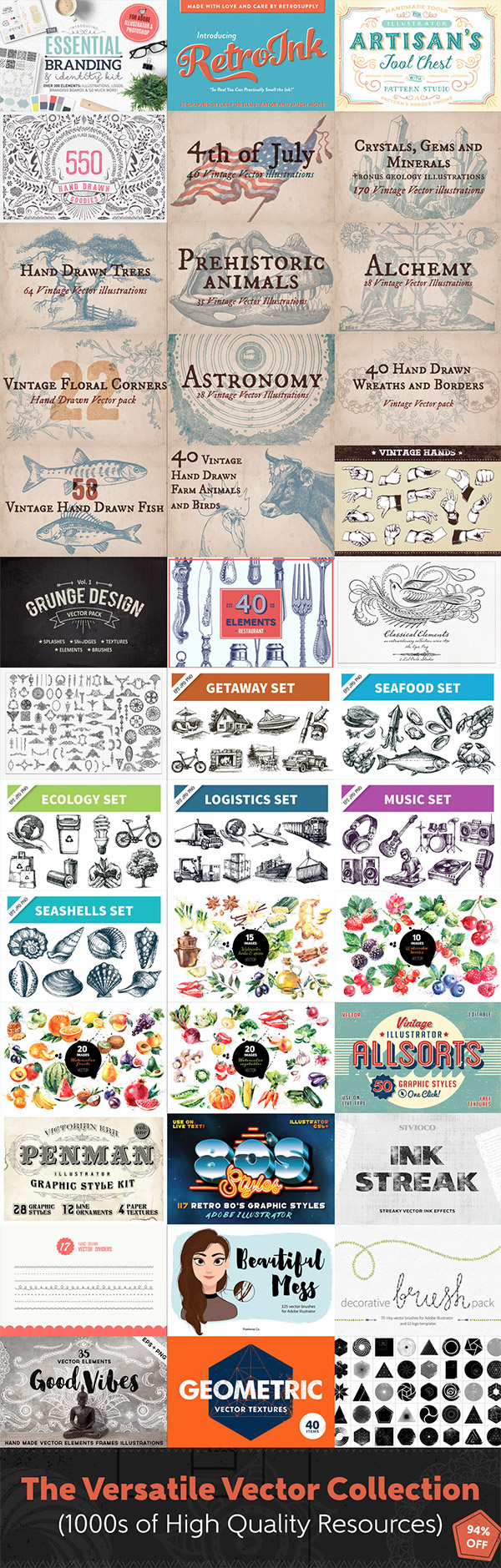 Download This Versatile Vector Collection for Just $29