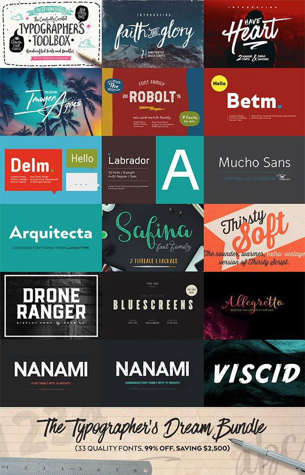 The Typographer's Bundle