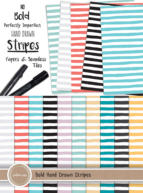 Bold Stripes Pattern