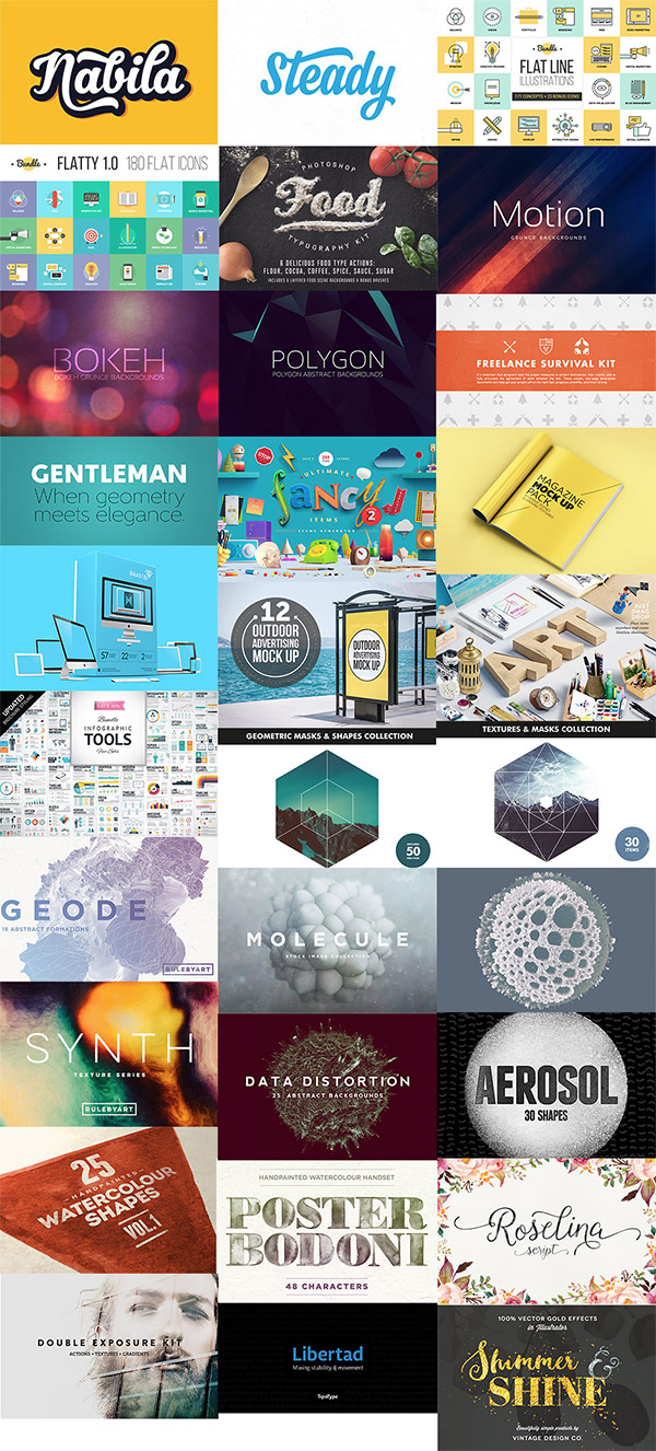The Modern, Creative Design Bundle