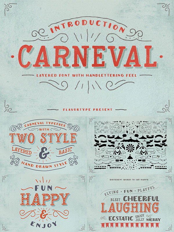 Carneval Font & Extra
