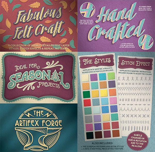 Felt Craft – Stitches Styles & More