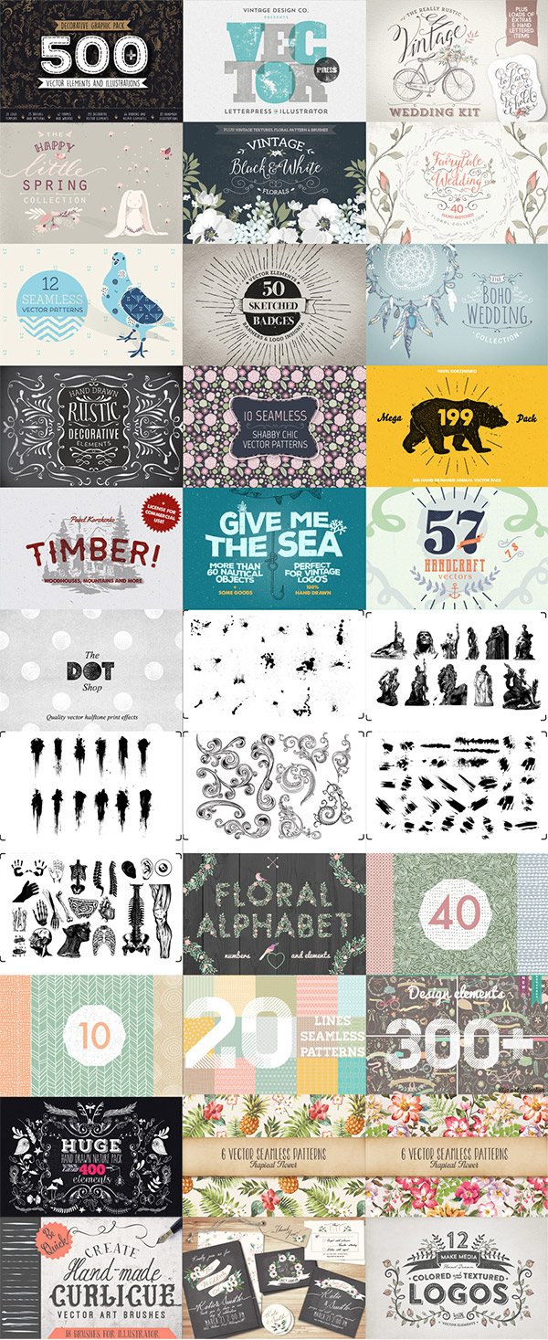 The Comprehensive, Creative Vectors Bundle