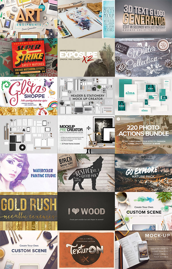 The Gorgeous, Artistic Design Bundle