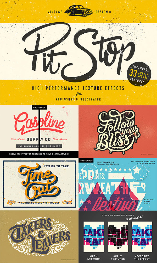 PitStop – Subtle Texture Effects