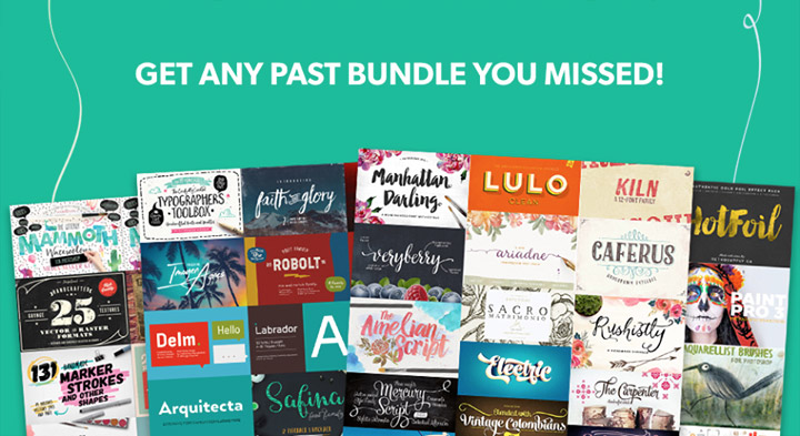 The World's Best Design Bundles, in One Massive Event!