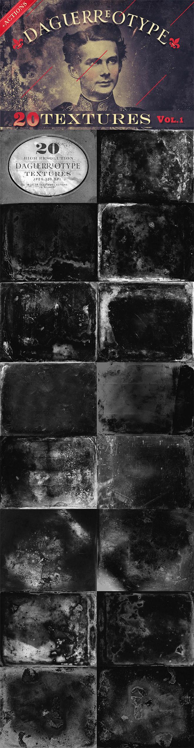 Daguerrotype Textures