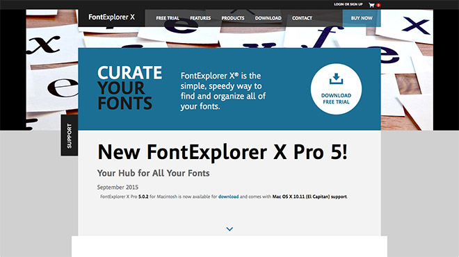 Font Explorer X Pro